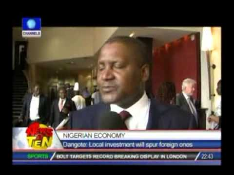 Nigerian Economy:Dangote advocates more local investments
