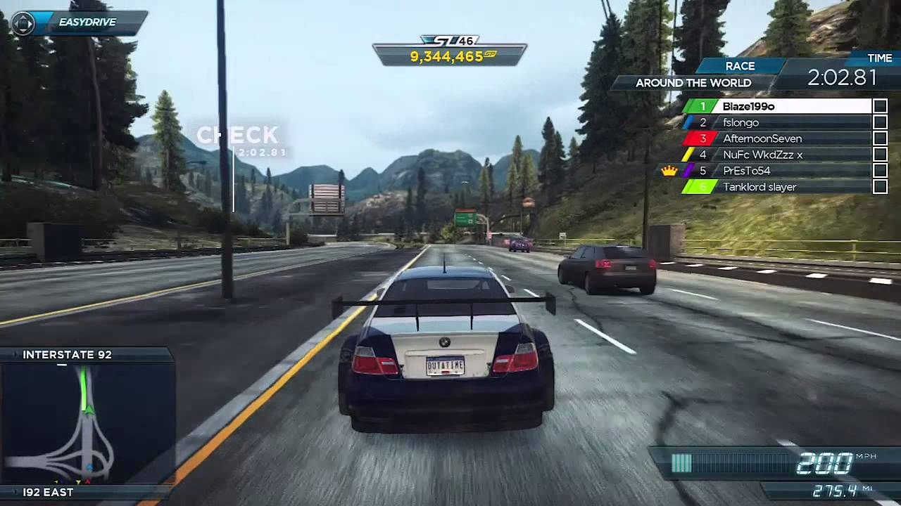 bmw m3 gtr vs bugatti veyron vitesse need for speed most wanted online race. Black Bedroom Furniture Sets. Home Design Ideas