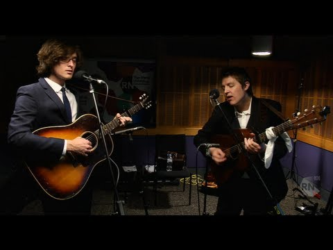 The Milk Carton Kids - 'Hope of a Lifetime' & 'Snake Eyes' [HD] The Inside Sleeve, ABC RN
