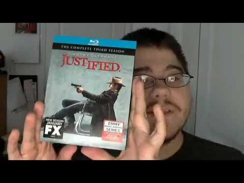 Justified The Complete Third Season Wal-Mart Exclusive Blu-Ray Unboxing