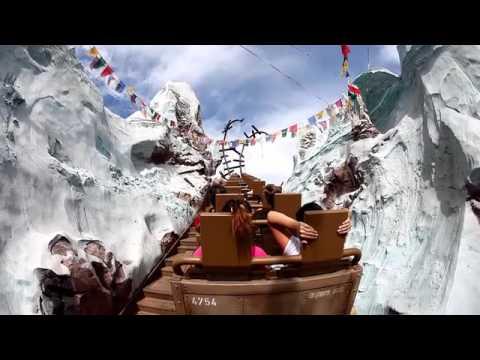 Disney Roller Coaster >> Mt. Everest Disney World - YouTube