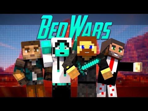 Minecraft Bed Wars #2 - Евгеха и его команда!