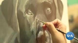 Artist Helps Grieving Pet Owners Remember