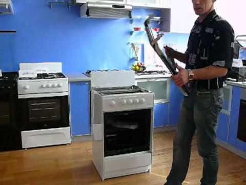 Видео как снять ручку газовой плиты