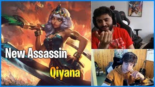 Yassuo and LL Stylish react to new champion Qiyana Teaser   LoL Daily Moments Ep 489