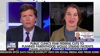 Tucker Carlson Destroys Abortion Apologist Planned Parenthood VP Dawn Laguens