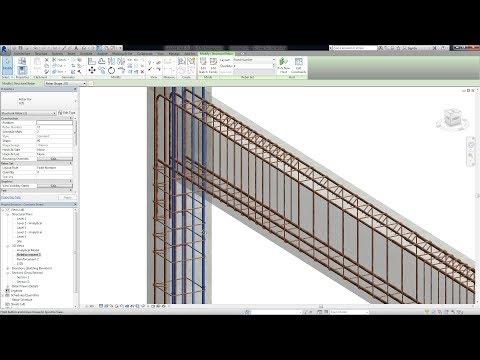Modeling 3D Reinforcement in Autodesk Revit