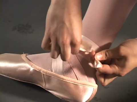 Anaheim Ballet: Pointe Shoe Tying & Tips Video