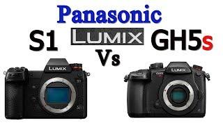 Panasonic Lumix S1 vs GH5S Mirrorless Camera Comparison !