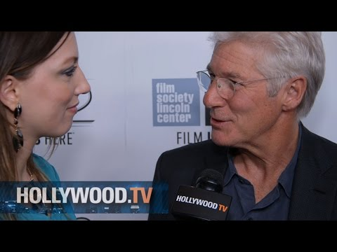 Richard Gere at the New York Film Festival - Hollywood.TV