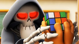 Spookiz | Solve the Puzzle - Rubik's Cube | 스푸키즈 | Funny Cartoon | Kids Cartoons | Videos for Kids