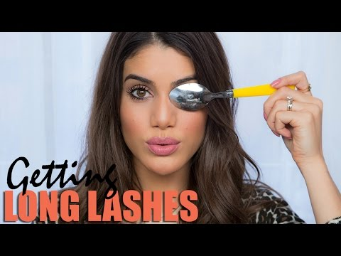 Longer Lashes Using a Spoon