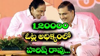 TRS Harish Rao Leading at Siddipet District | Telangana Election Results | #HarishRao | #Telangana