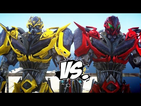 BUMBLEBEE VS STINGER - TRANSFORMERS BATTLE