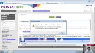 01. 02. Netgear Nighthawk R7000 VPN Setup Demo
