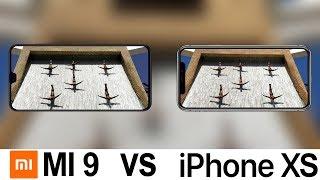Xiaomi Mi 9 Vs iPhone XS Camera Test