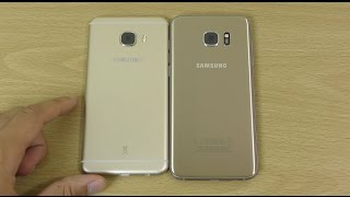 Samsung Galaxy C5 vs Samsung Galaxy S7 Edge - Speed Test! (4K)