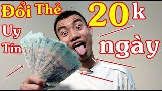 Hướng Dẫn Kiếm Tiền Đổi Thẻ Cào 20K Mỗi Ngày | Kiếm Tiền Online Trên Điện Thoại