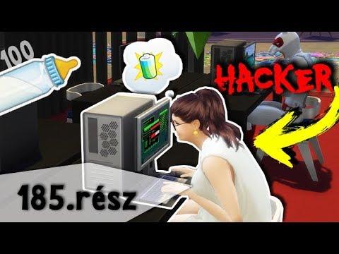 HACKER VERSENY! - 100 Baba Kihívás - The Sims 4 - 185. rész