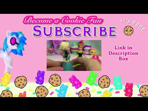 MLP Double Twilight Sparkle My Little Pony Shopkins Peanut Butter Playing House Snack Food Fun