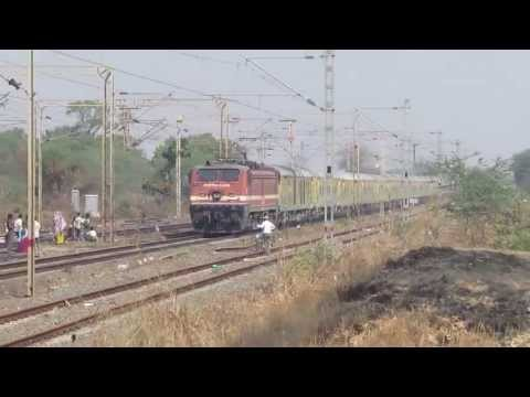Indore Duronto With Brc Wap-4e At Mps. video