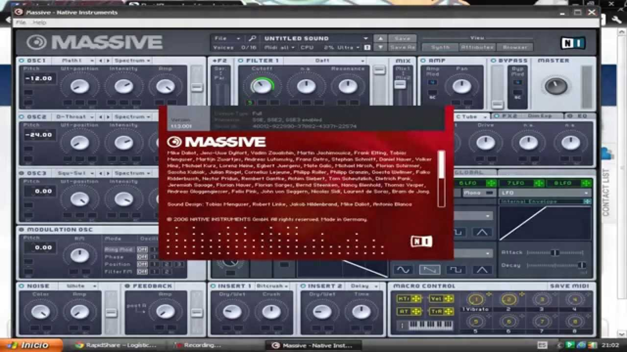 massive vst plugin free download