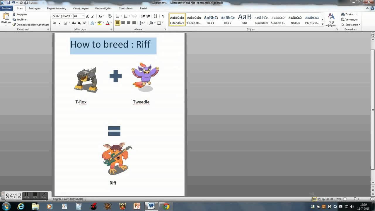 How to breed a Riff My singing monsters - YouTube