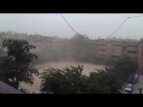 Most Dangerous Storm in Delhi..