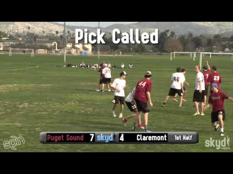 DIII Warmup: Puget Sound v. Claremont - Final [Presented by Spin Ultimate]