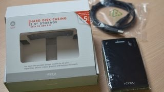 ICIDU 2.5 HDD Casing - SATA to USB 3.0 - Review
