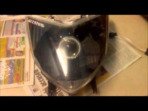 Nkcustomz Honda Dio Projector