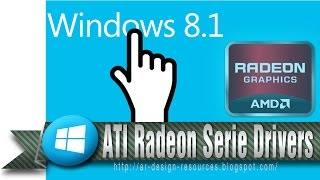 How to Install ATI Radeon HD series drivers with OpenGL in Windows8/8.1