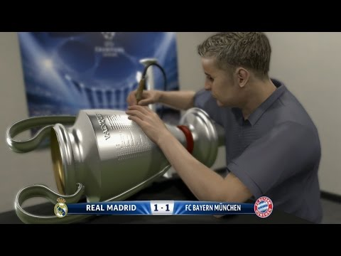 PES 2015 - UEFA Champions League FINAL - Real Madrid vs Bayern Munich