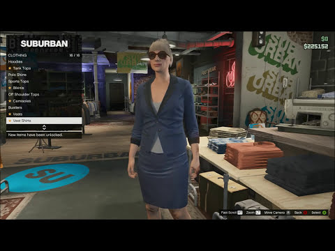 GTA 5 ONLINE: NAKED GIRL CHARACTER GLITCH (GRAND THEFT AUTO V SEXY WOMAN GAMEPLAY) NEW PATCH 1.11