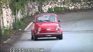 Fiat 500 Turbo - Minislalom Taormina 2007