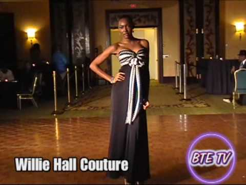 Willie Hall Couture at the Hype Hair Magazine Fashion Show Coordinated by Ron Cooke