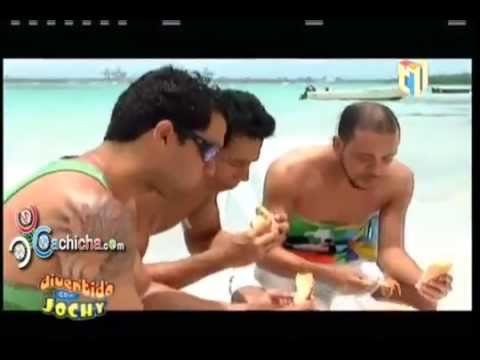 Los Cuerpos Hot de Divertido con jochy, Carlos Baez, Albert Mena, Eduardo Santos