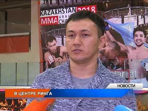 В Уральске проходит турнир по ММА