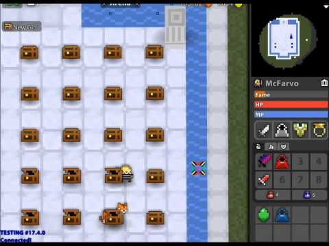 Mystery Box in Testing RotMG