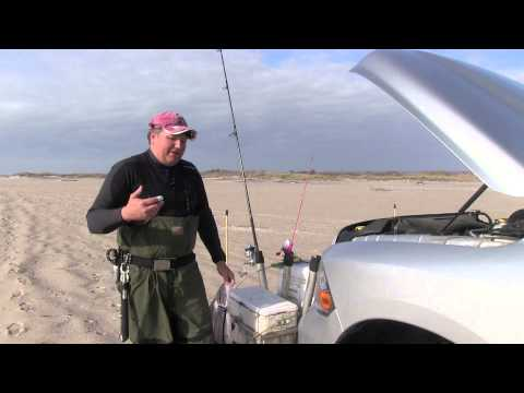 How to fish live eels with NY Surf Fishing Guide Bill Wetzel