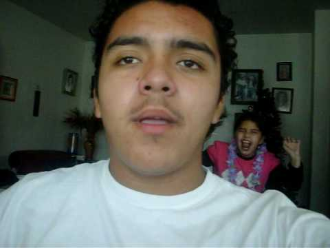 Singing Superman... Little Sister Creeps Up.. Mexican Ninja! video