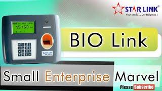 Small Enterprise Marvel - Bio Link | Attendance Device
