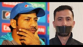 Junaid Khan start controversy after dropping out from the CWC 219 squad Sarfraz Ahmed  denied