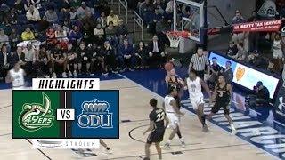 Charlotte Vs Old Dominion Basketball Highlights 2018 19 Stadium