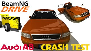 BeamNG DRIVE crash test mod car Audi A8