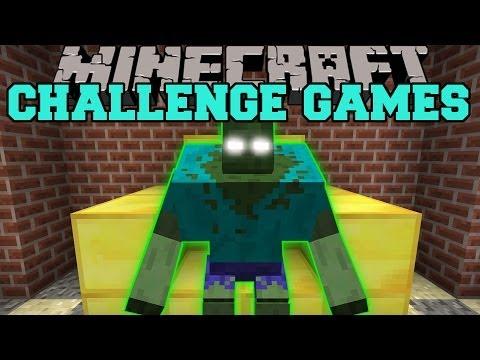 Minecraft: MUTANT ZOMBIE CHALLENGE GAMES RUINS MOD Modded Mini Game