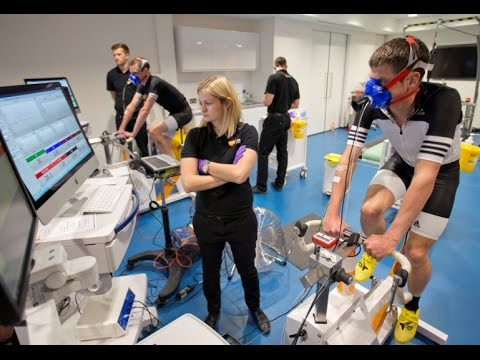 Brownlee Brothers prepare for Rio 2016 at the GSK Human Performance Lab