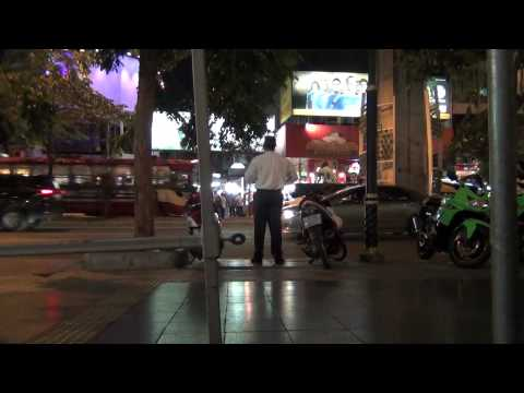 Preaching the gospel to Patpong Road (June 22, 2012)