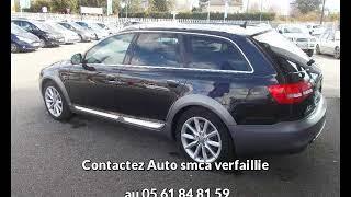 Audi a6 allroad occasion visible à Bessières présentée par Auto smca verfaillie