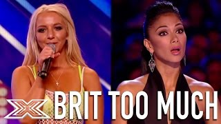 Britney Spears Lookalike Lorna Bliss Shocks the Audience! | X Factor Global